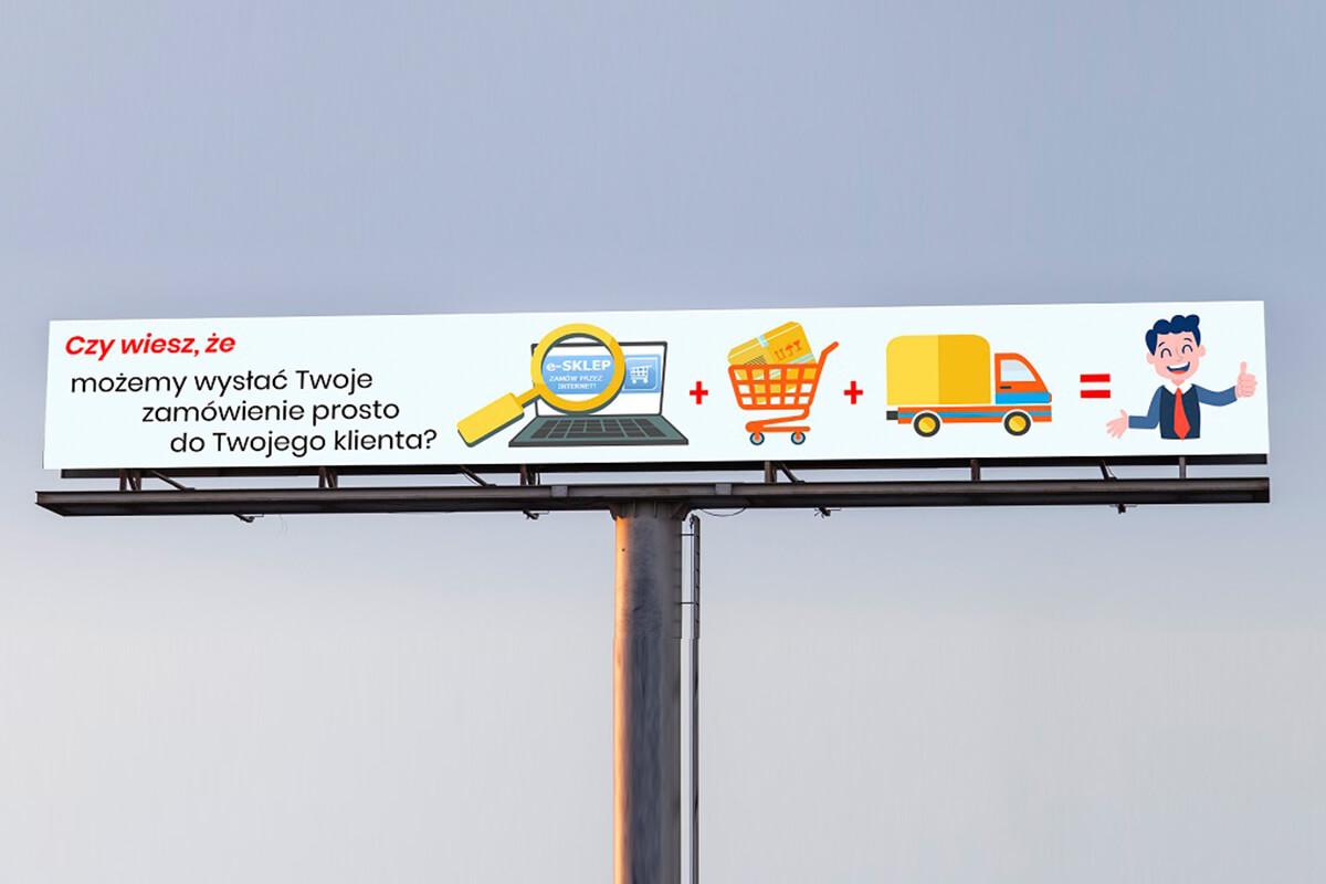 Billboard in Marcin Dziubak portfolio