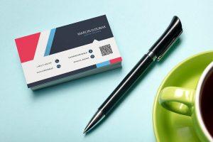 Business Card in Marcin Dziubak Portfolio