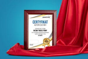 Certificate in Marcin Dziubak Portfolio